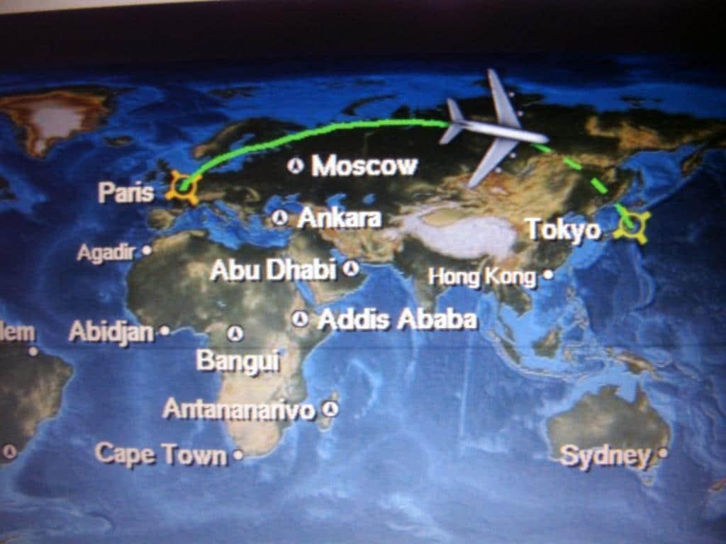 Auf dem Weg nach Tokio
