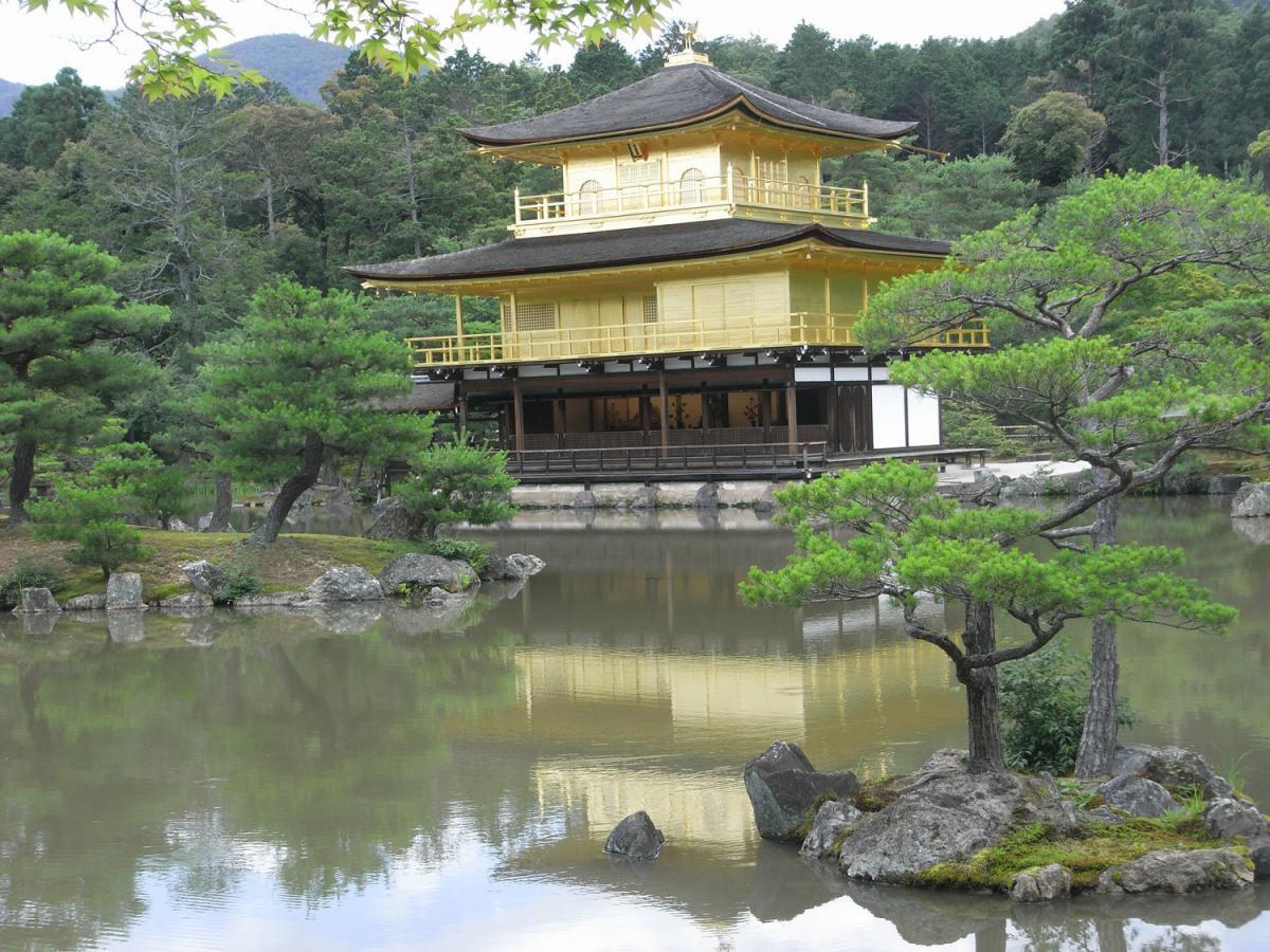 Kinkaku-ji 2012 während meiner ersten Japanreise