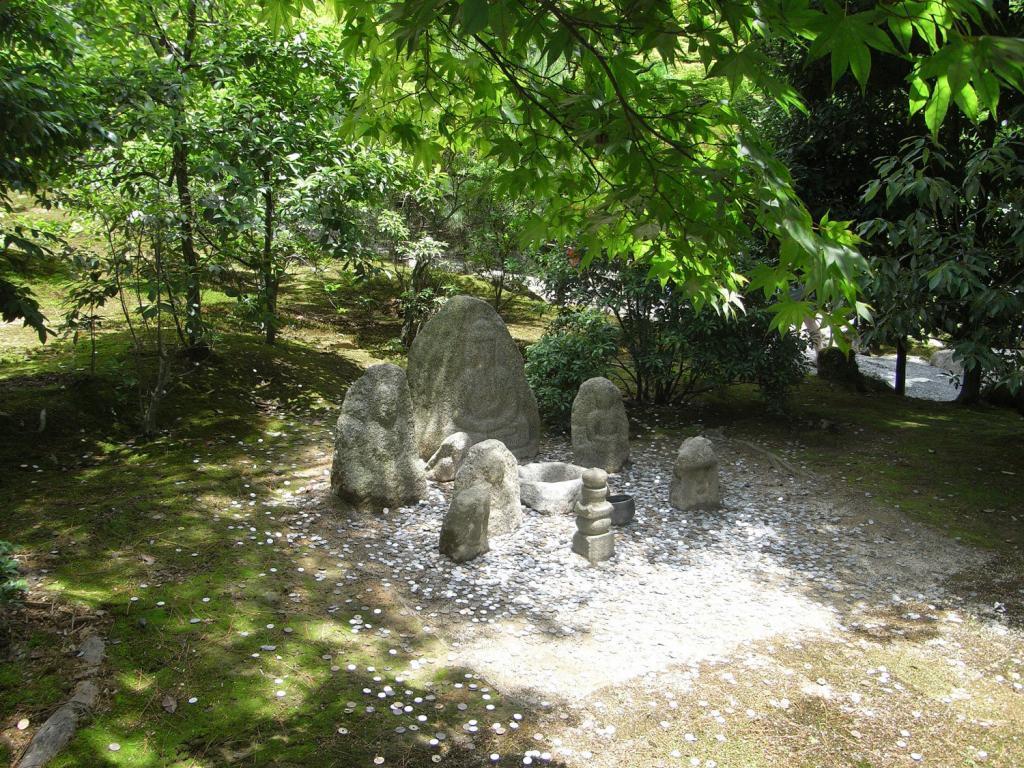 Münzbrunnen beim Kinkakuji