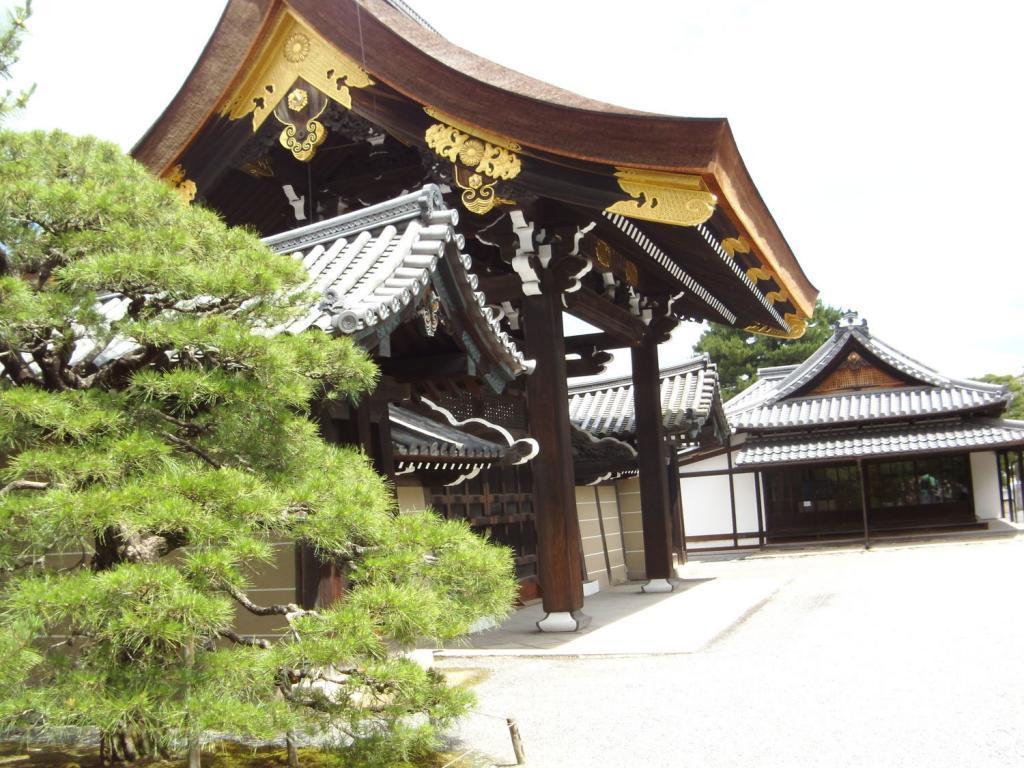 Ein Tempel in Kyoto