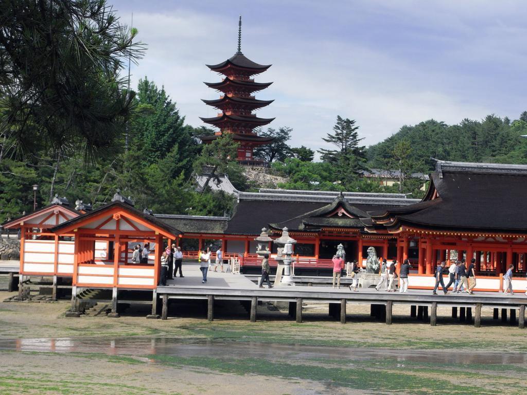 Tempelanlagen auf Itsukushima