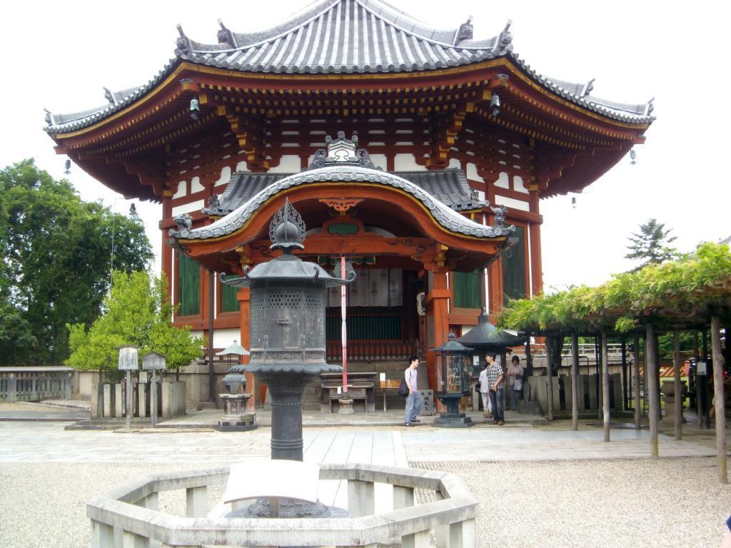 Japanisches Gebäude in Nara