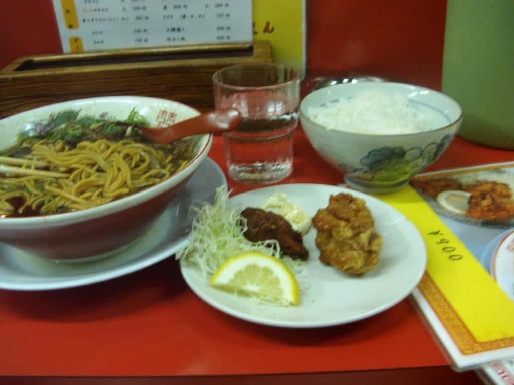 Mittagessen in Osaka