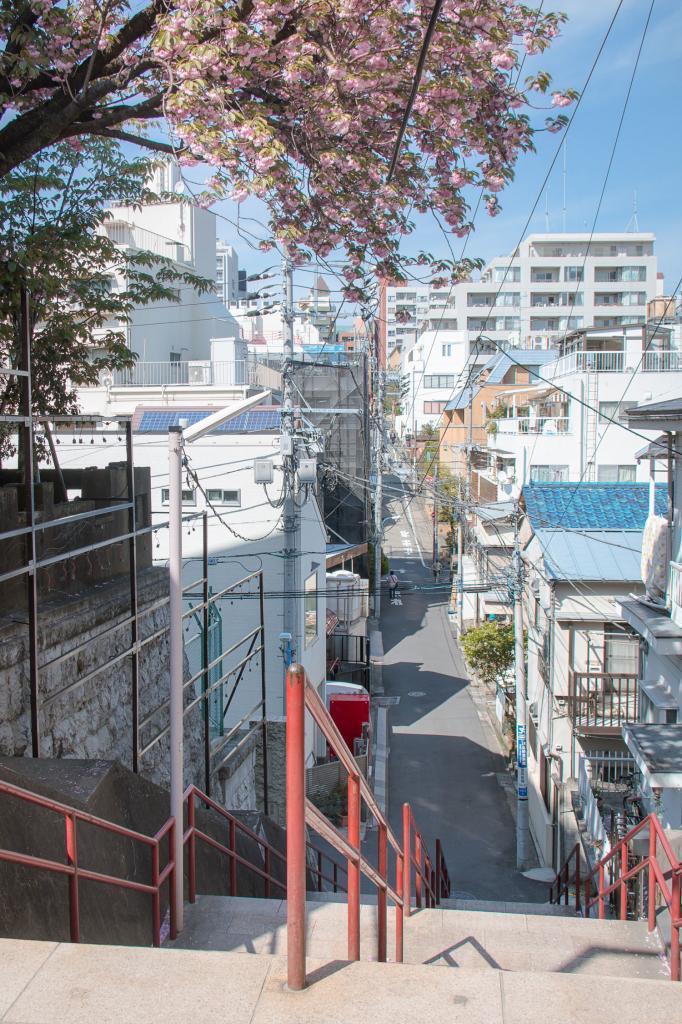 Treppe aus der berühmten Szene von Kimi no na wa