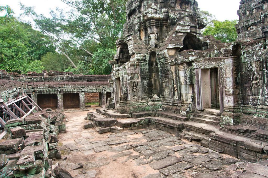 Banteay Kdei in Kambodscha
