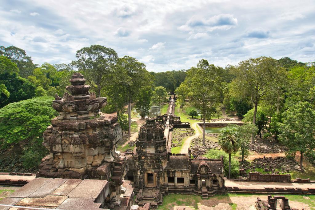 Aussicht vom Baphuon in Kambodscha