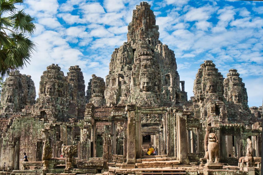 Bayon Tempel in Kambodscha