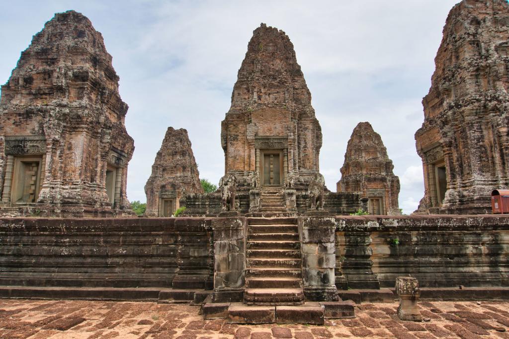 Östlicher Mebon in Kambodscha