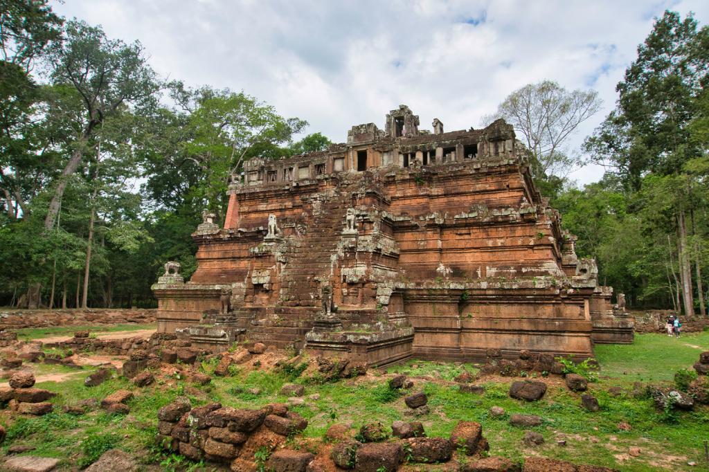 Phimeanakas Tempel in Kambodscha
