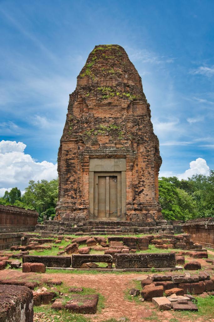 Pre Rup aus der Nähe in Kambodscha