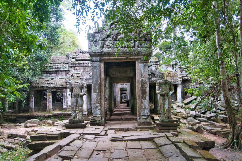 Preah Khan in Kambodscha