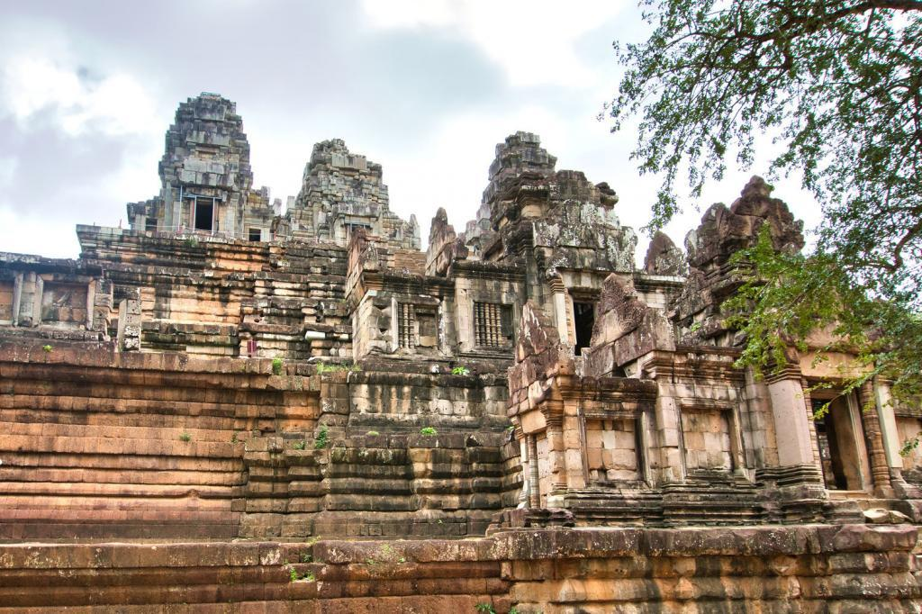 Ta Keo aus der Nähe in Kambodscha