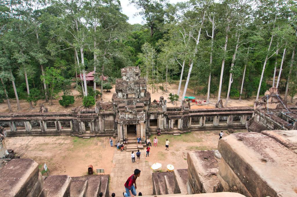 Blick vom Ta Keo in Kambodscha