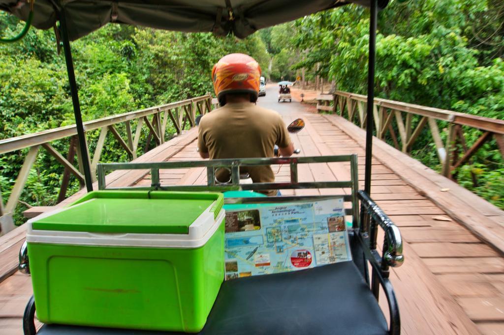 Unser Tuk-Tuk-Fahrer Sovann in Kambodscha