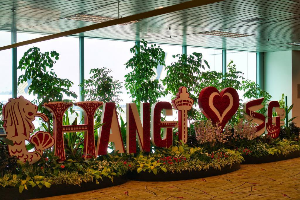 Changi Airport Singapur in Singapur