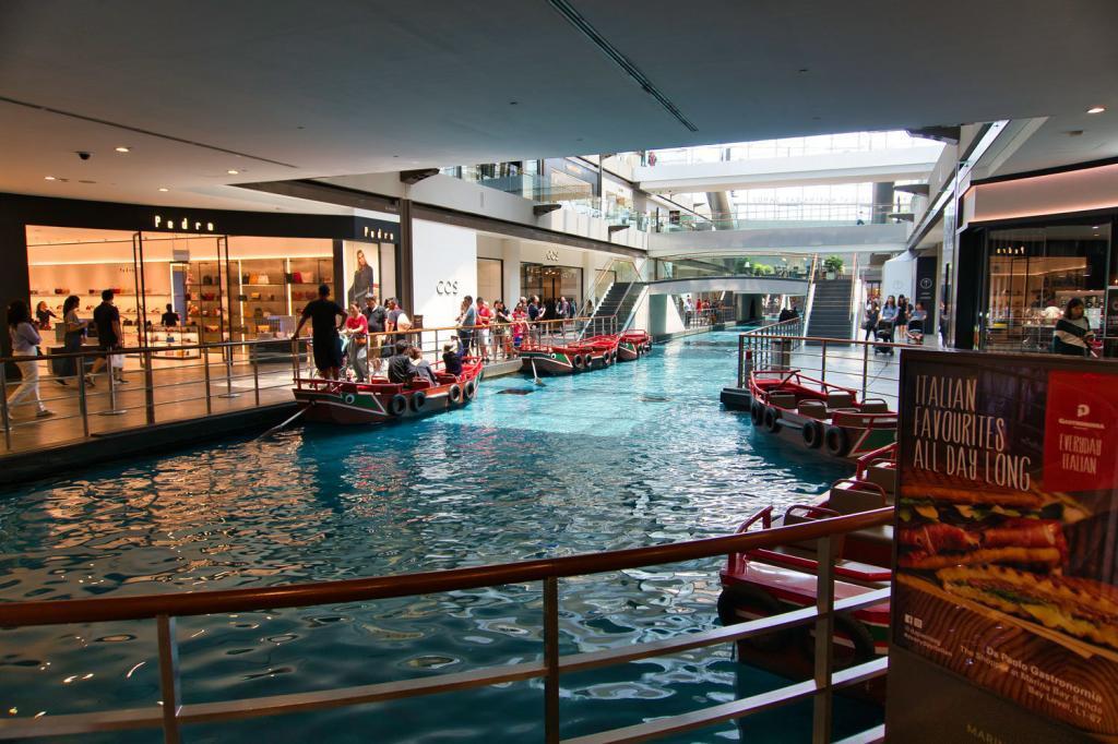 Marina Bay Sands Shopping Center in Singapur