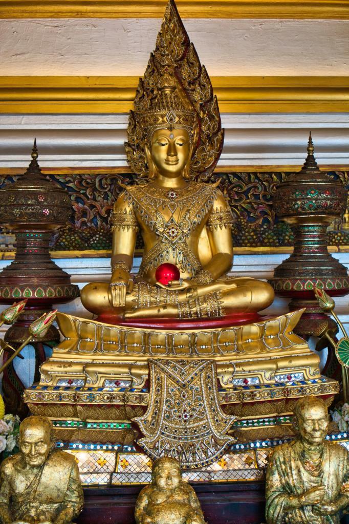 Buddah auf dem Golden Mount in Thailand