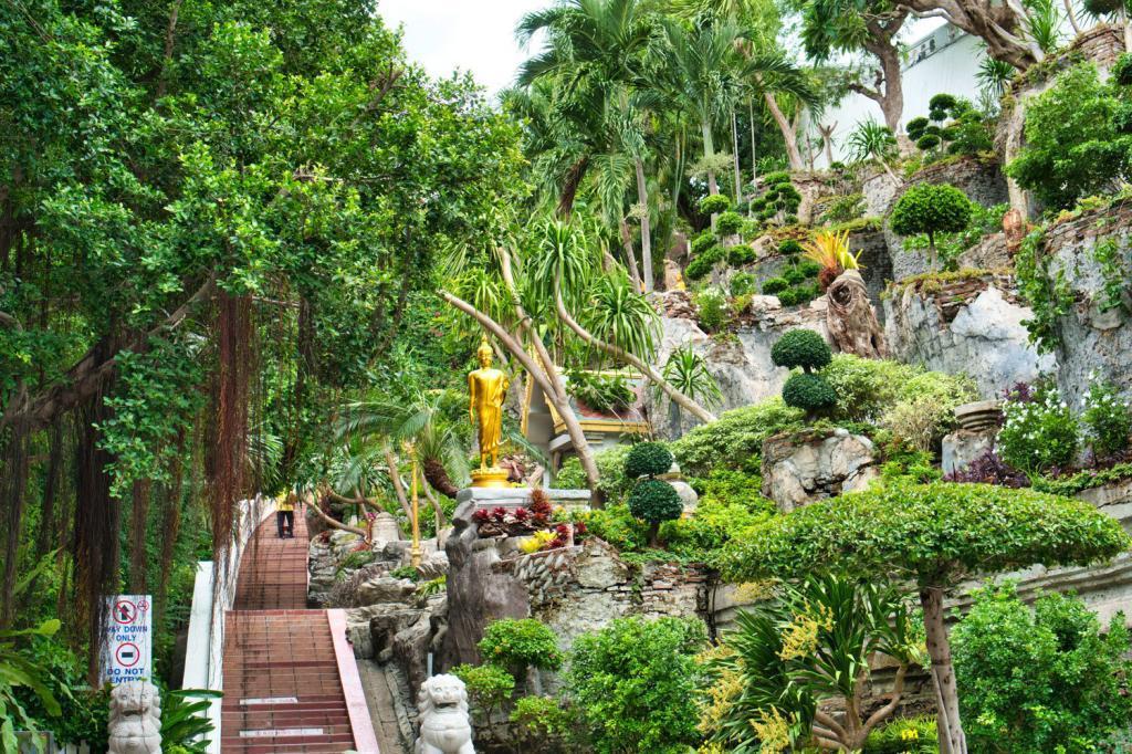 Vegetation vom Golden Mount in Thailand