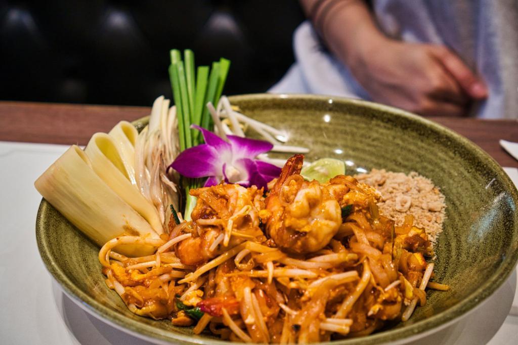 Krabbengericht im Siam Paragon in Thailand