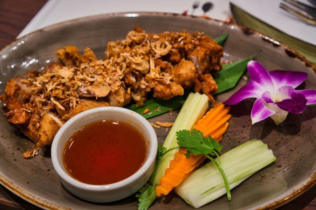 Lunch im Siam Paragon in Thailand