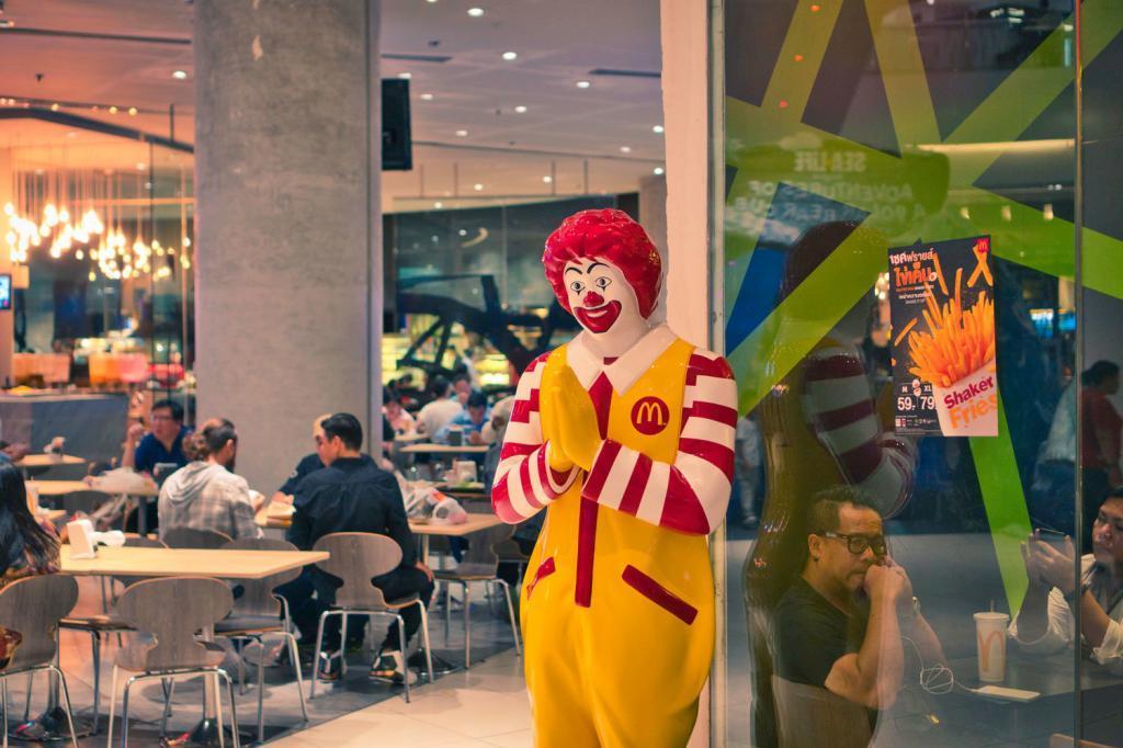 Thai Ronald MCDonald in Thailand