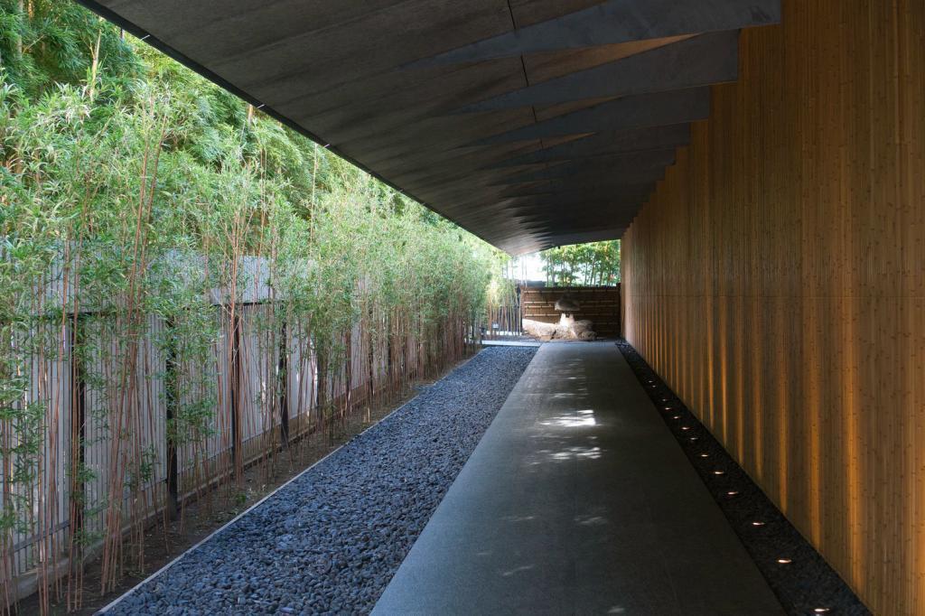 Der Eingang des Nezu-Museums.