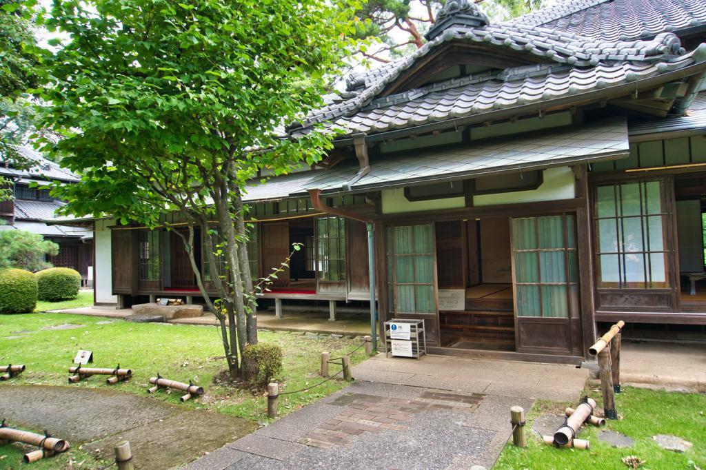 Altes, traditionelles japanisches Haus.