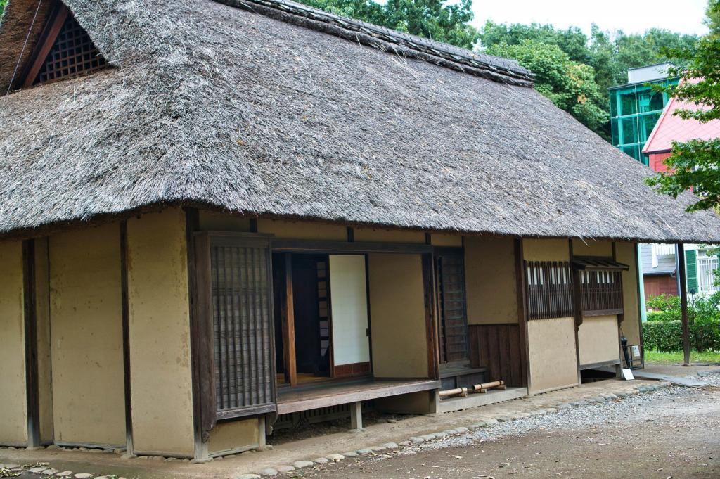 Traditionelles japanisches Landhaus: Haus des Anführers der Hachioji Wache.