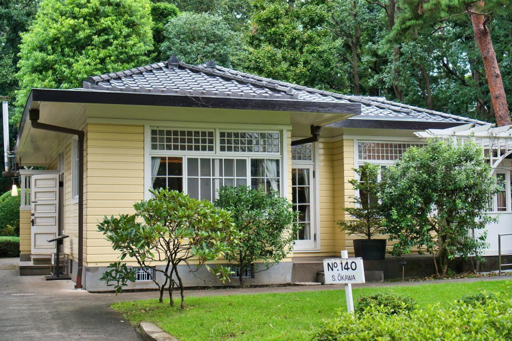 Altes japanisches Hauses von Okawa.