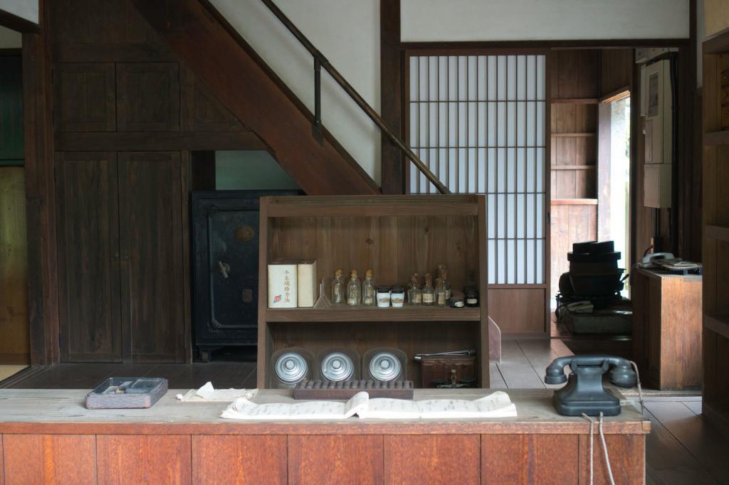 Traditionelles japanisches Geschäft.