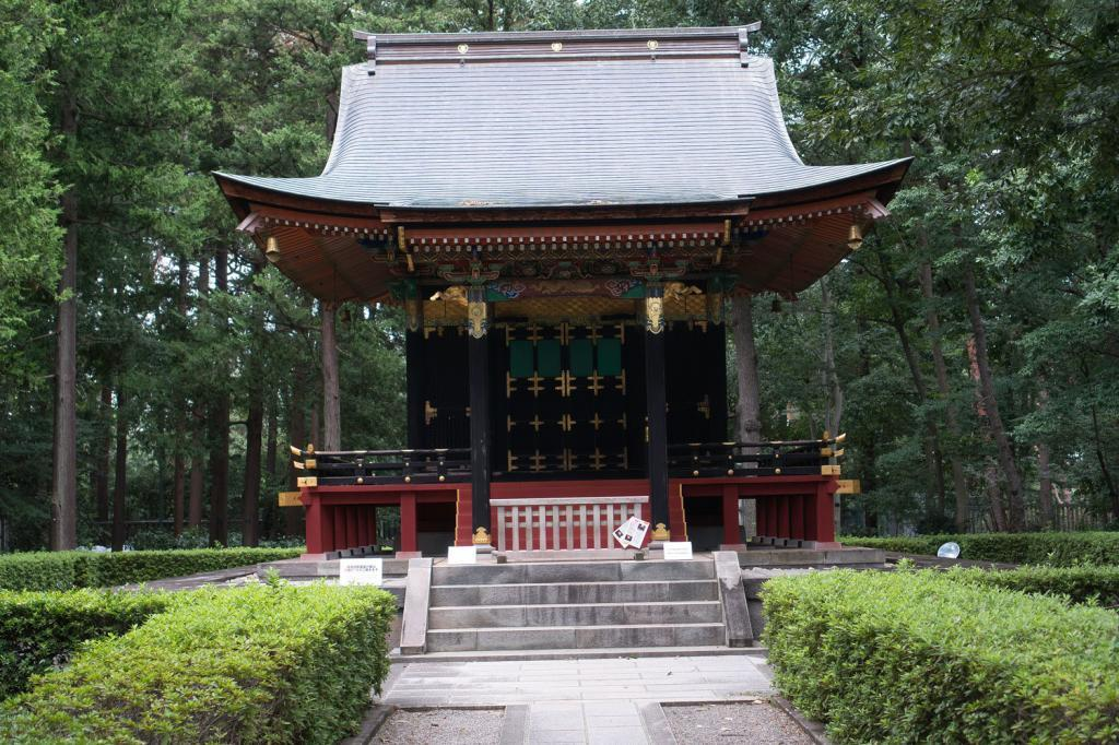 Jisho-in Mausoleum.