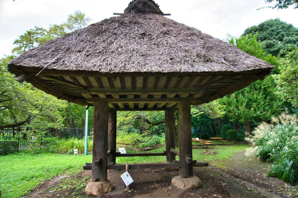 Traditioneller japanischer Getreidespeicher von der Insel Amami-Oshima.