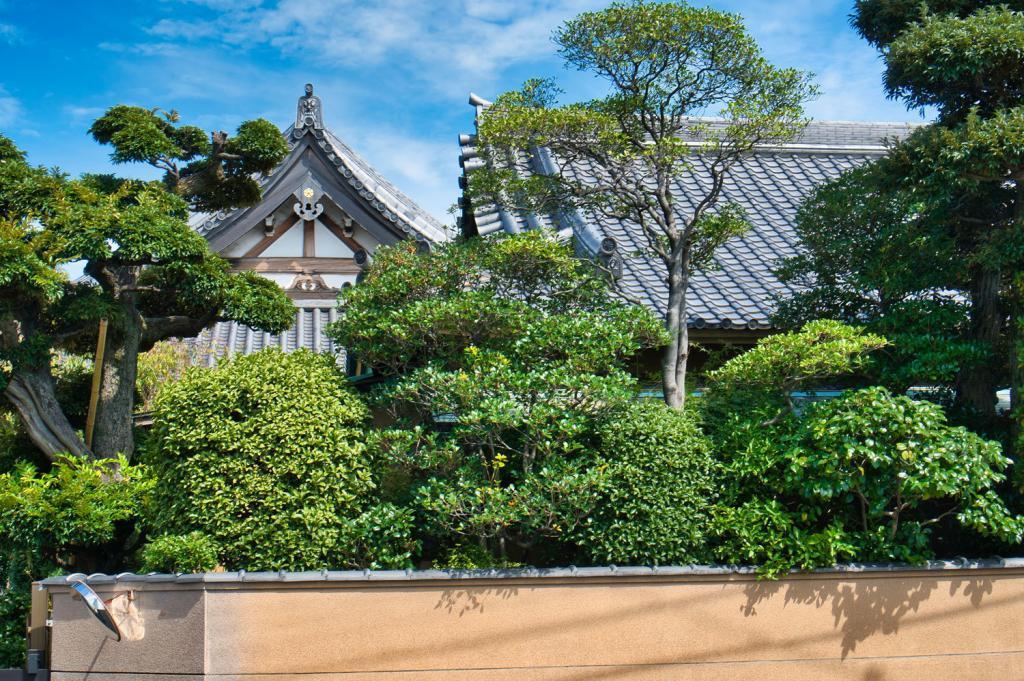 Tempel in Katsushika City.