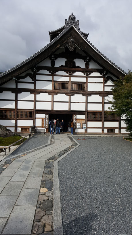 Der Tenryu-ji Tempel in Kyoto.