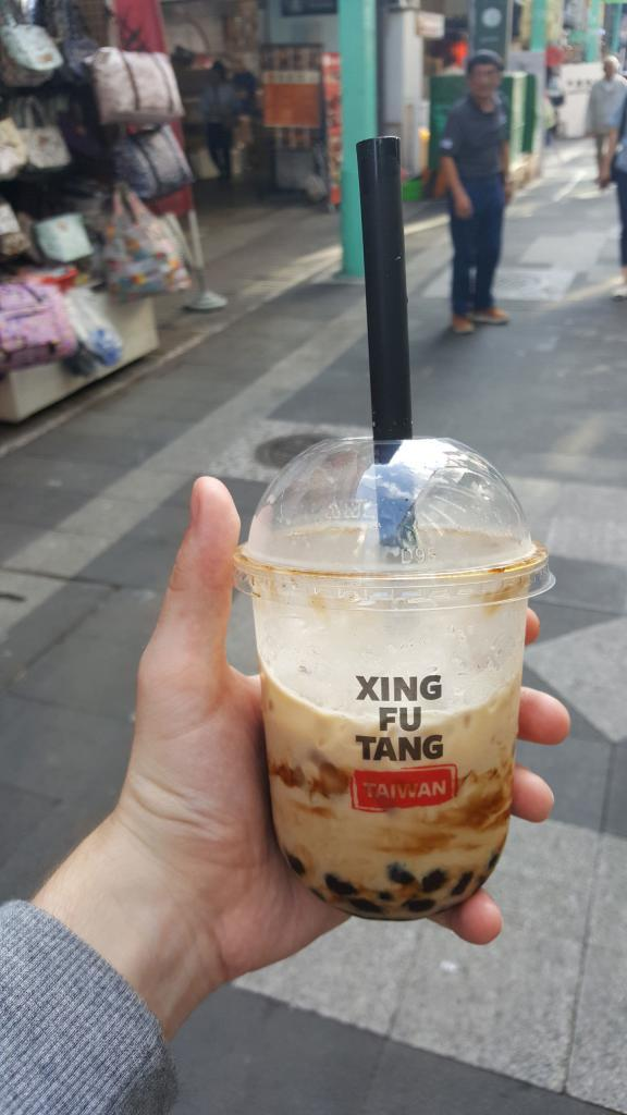 Bubbletea (Tapioca) in Taiwan.