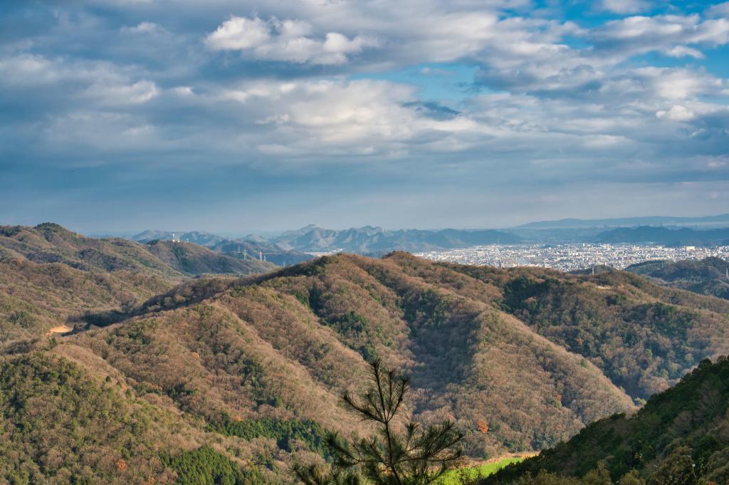 Aussicht vom Berg Shoshazan.