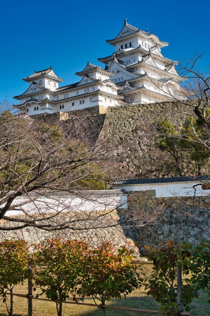 Burg Himeji.
