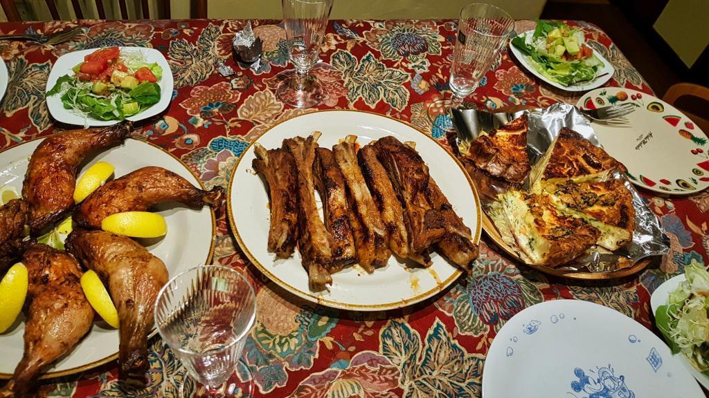 Festmahl an Weihnachten