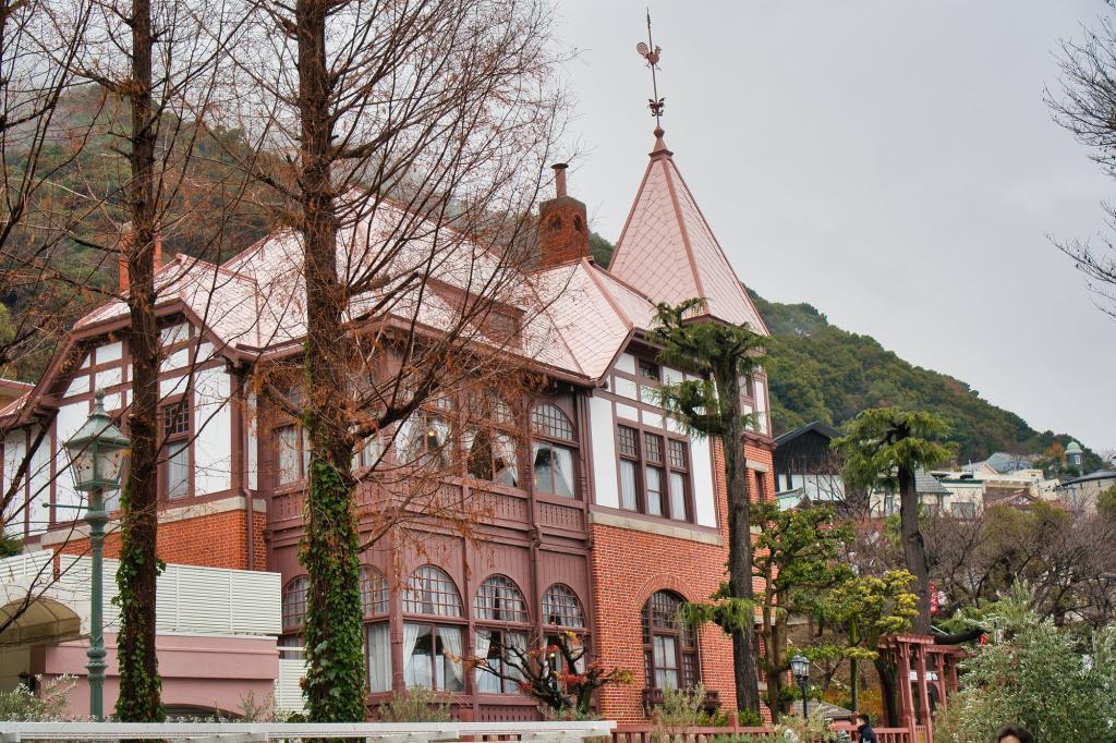 Bild eines alten Gebäudes in Kitano