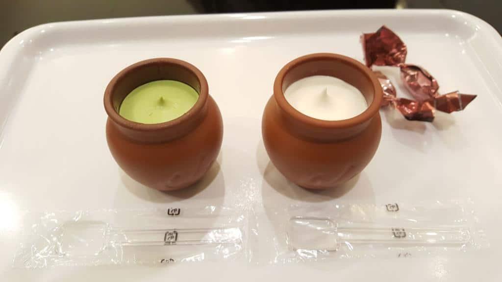 Bild von zwei Puddings aus Kobe