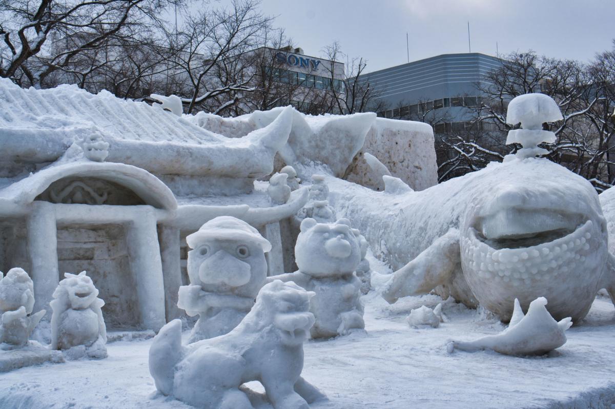 Titelbild vom Beitrag zum Sapporo Yuki Matsuri