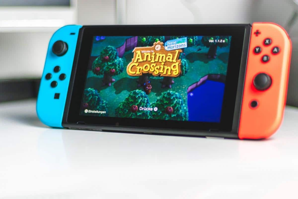 Nintendo Switch mit Animal Crossing