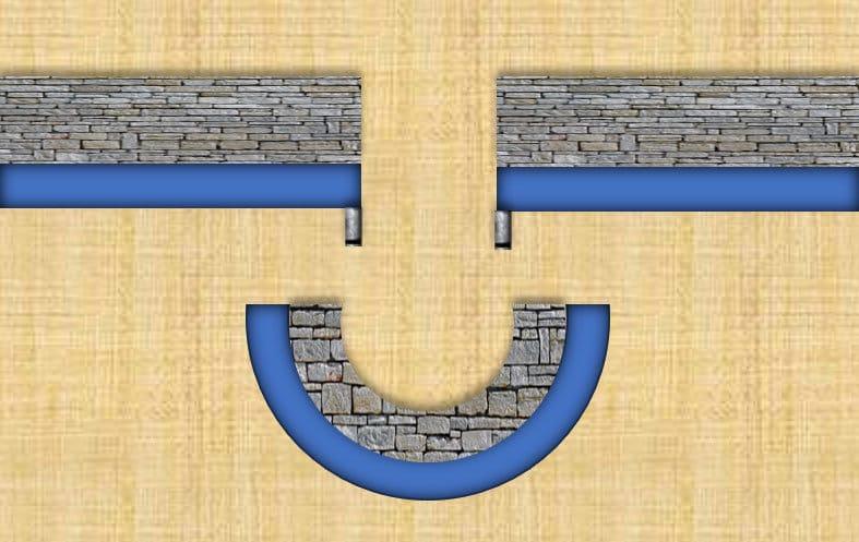 Illustration eines Maruumadashi