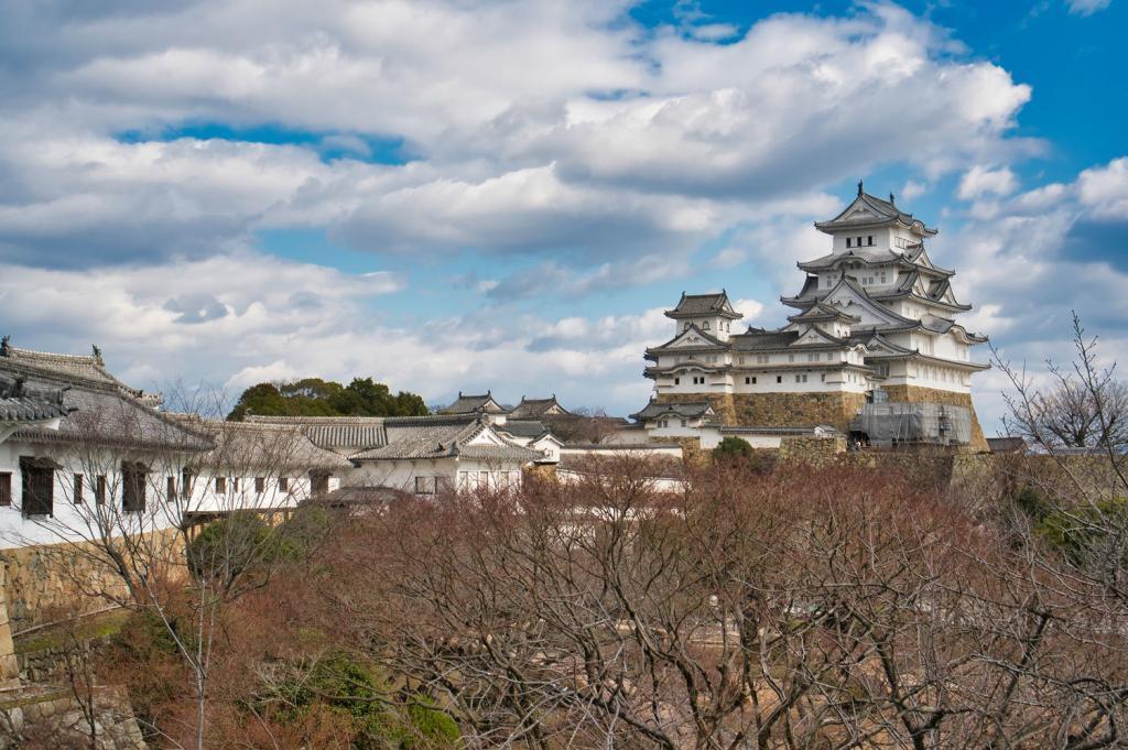 Bild von der Hügelburg Burg Himeji