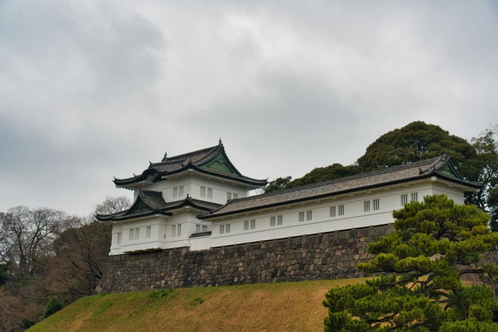 Bild des Fushimi Yagura von Burg Edo