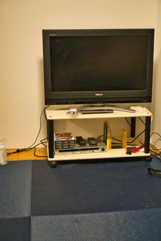 Washitsu, oder auch Tatami-Raum, einer Wohnung in Japan.
