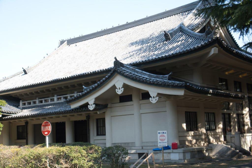 Kendo-Dojo der Universität Tokio.