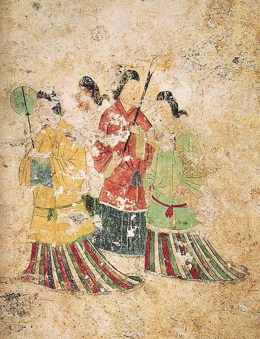 Japanische Kleidung während der Asuka-Zeit