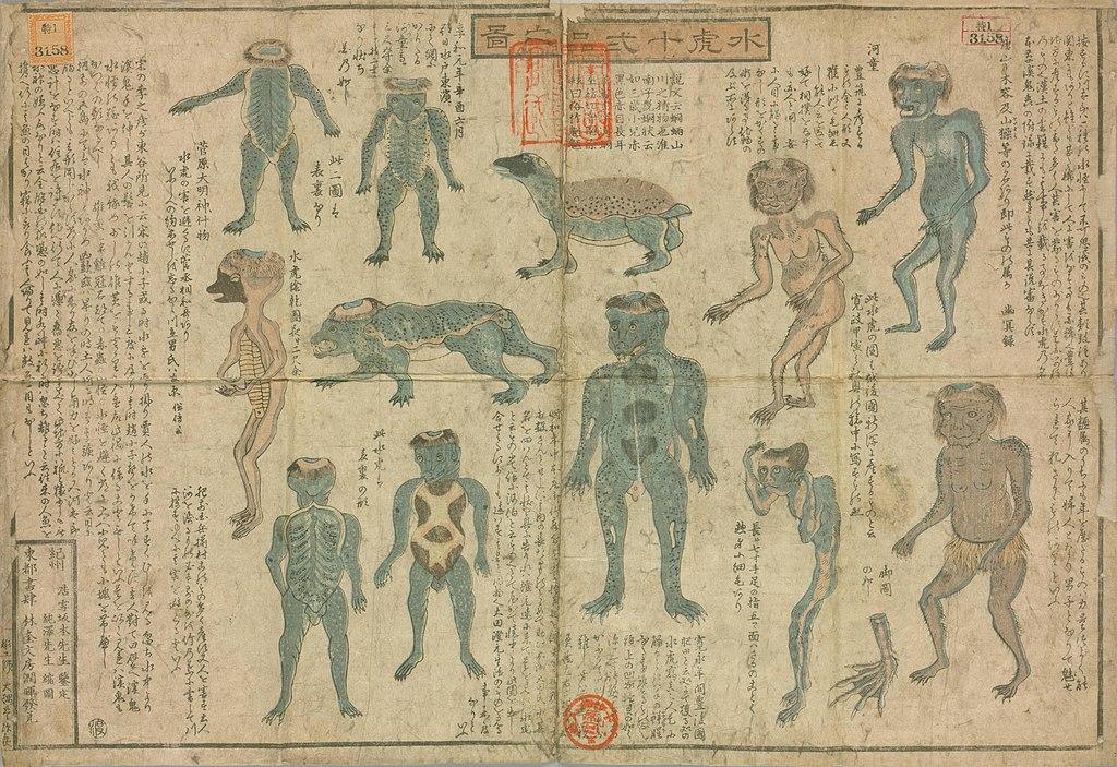 Japanische Fabelwesen: 12 Arten von Kappa