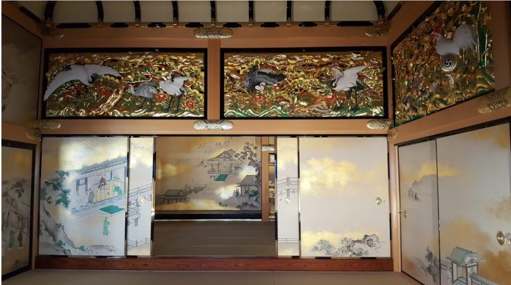 Honmaru Palast der Burg Nagoya